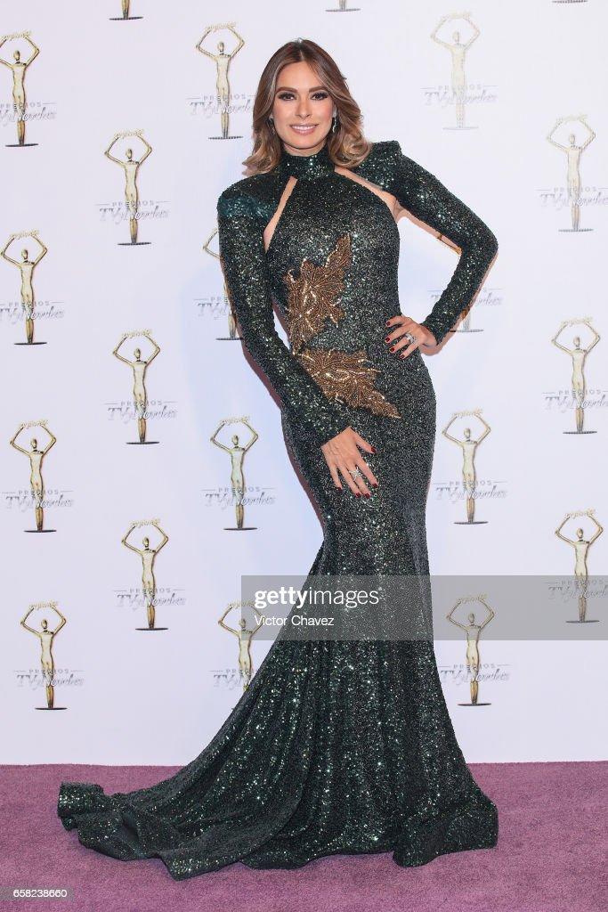 Galilea Montijo attends Premios Tv y Novelas 2017 at Televisa San Angel on March 26, 2017 in Mexico City, Mexico.