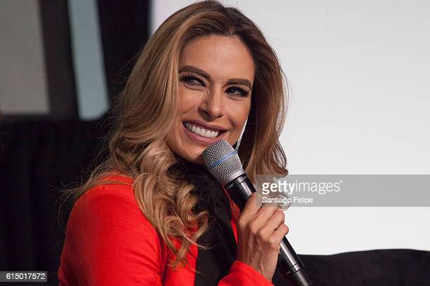 Galilea Montijo attends the 5th Annual Festival People en Espanol at The Jacob K Javits Convention Center on October 15 2016 in New York City