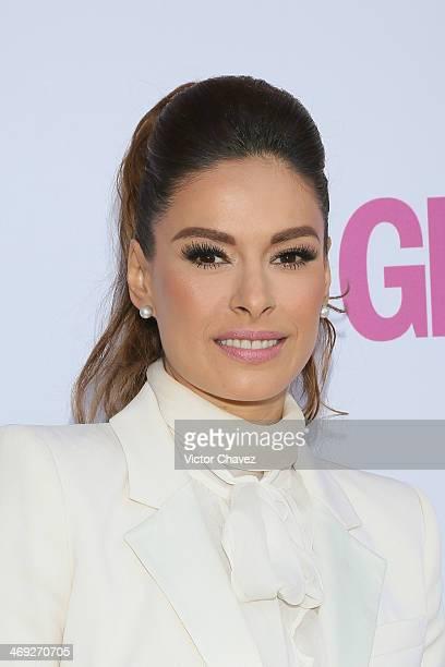 Galilea Montijo attends the Glamour Magazine México Beauty Awards 2013 at Museo Rufino Tamayo on February 13 2014 in Mexico City Mexico