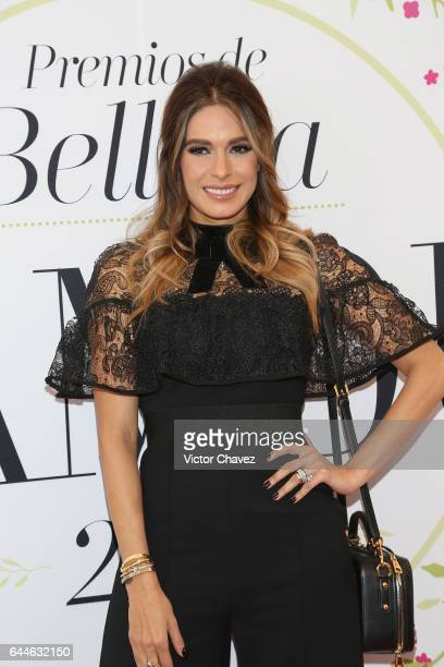 Galilea Montijo attends the Glamour Mexico magazine Beauty Awards 2016 at Jardin Versal on February 23 2017 in Mexico City Mexico