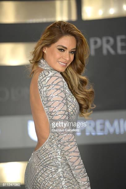 Galilea Montijo attends Univision's 28th Edition of Premio Lo Nuestro A La Musica Latina on February 18 2016 in Miami Florida