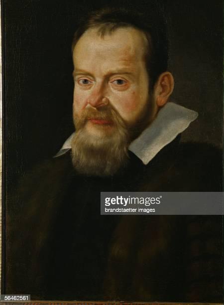 Galileo Galilei astronomer Canvas 57 x 40 cm [Galileo Galilei Astronom Canvas 57 x 40 cm Leinwand 57 x 40 cm]