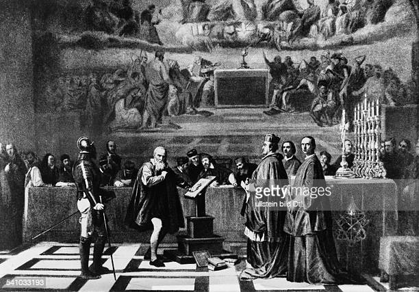 Galileo Galilei Galileo Galilei *1564-1642+ Physicist, astronomer, Italy Galilei appearing before the tribunal of the inquisition - 1632