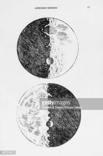 Galileo's moon drawings 1610 Drawings from the Venice edition of 'Siderevs Nvncivs' Galileo Galilei was an Italian astronomer and physicist and an...
