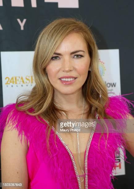 Galina Antonova attends Lumiere Runway Fashion Show on June 12, 2021 in Bel Air, California.