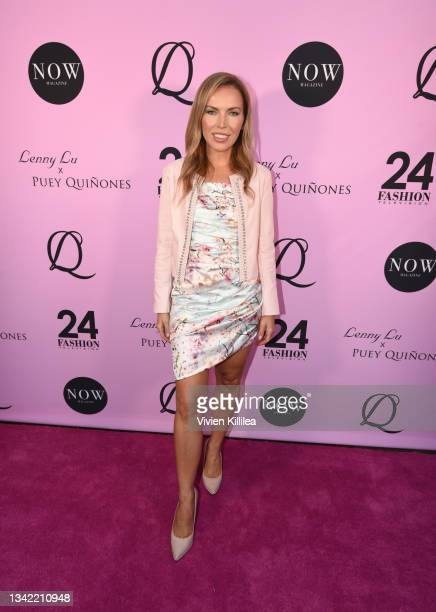 Galina Antonova attends the LennyLu x Puey Quiñones Luxury Shoe Launch at SIXTY Beverly Hills on September 23, 2021 in Beverly Hills, California.
