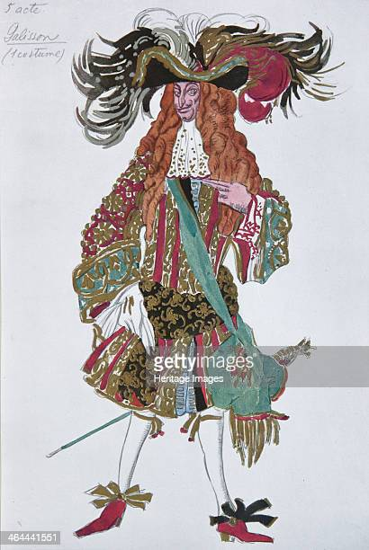 Galisson Costume design for the ballet Sleeping Beauty by P Tchaikovsky 1921 From a private collection