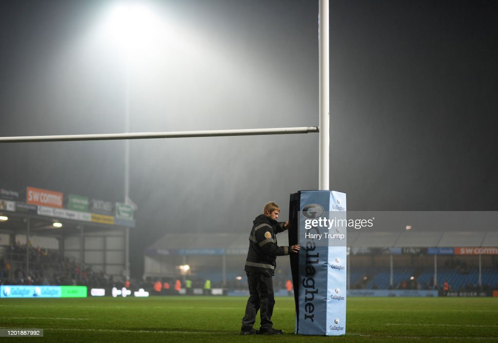 Exeter Chiefs v Sale Sharks - Gallagher Premiership Rugby : News Photo