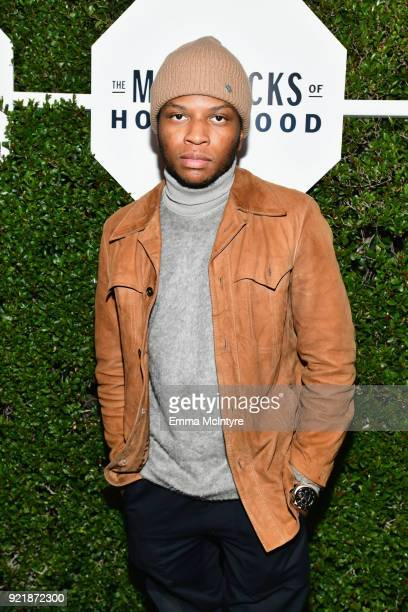 Gallant attends Esquire's 'Mavericks of Hollywood' Celebration presented by Hugo Boss on February 20 2018 in Los Angeles California
