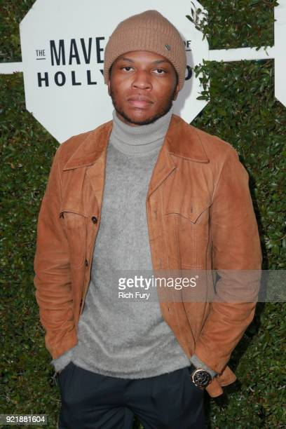 Gallant attends the Esquire's Annual Maverick's of Hollywood at Sunset Tower on February 20 2018 in Los Angeles California