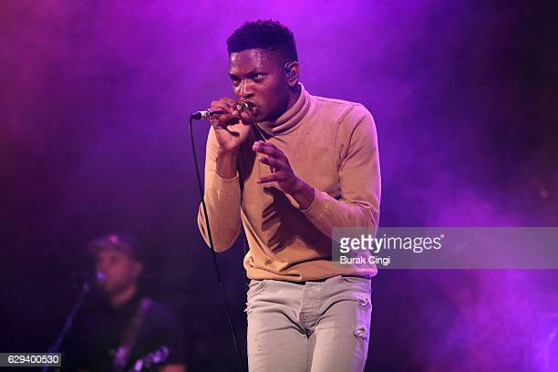 Gallant performs at Islington Assembly Hall on December 12, 2016 in London, England.