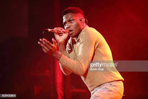 Gallant performs at Islington Assembly Hall on December 12 2016 in London England