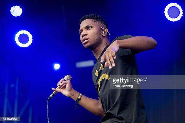 Gallant performs at Zilker Park on October 1 2016 in Austin Texas