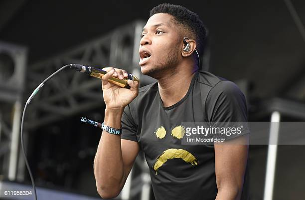 Gallant performs during the Austin City Limits Music Festival at Zilker Park on October 1 2016 in Austin Texas
