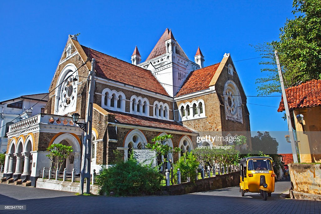 galle fort cathedral galle sri lanka stock photo getty images