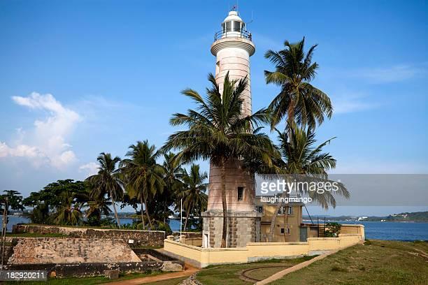 galle fort 灯台スリランカ - ゴール市 ストックフォトと画像