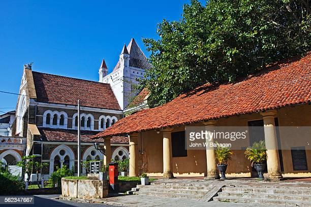 galle fort street scene, galle, sri lanka - ゴール市 ストックフォトと画像
