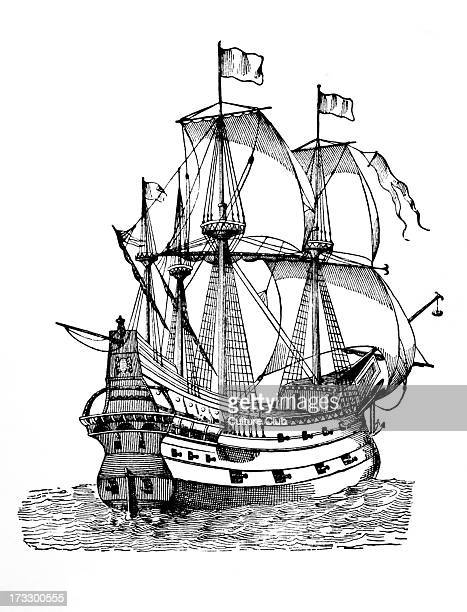 Galleon 15th century Ship used by pirates