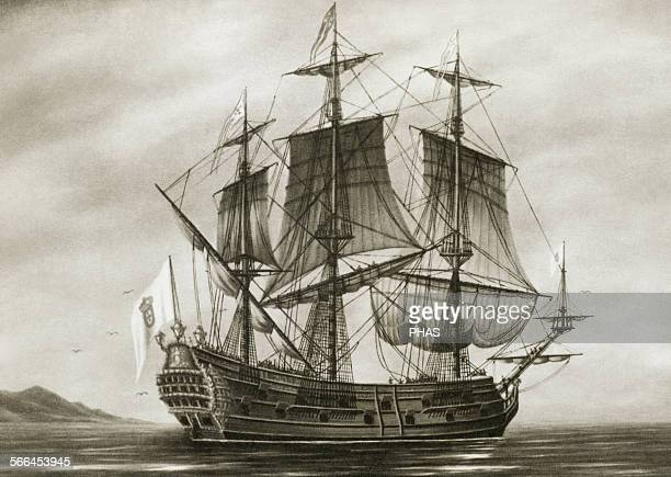Galleon Saint Lucia 17th century The Grand Duke Ferdinand I of Tuscany in 1608 organized an expedition to northern Brazil commanded by English...