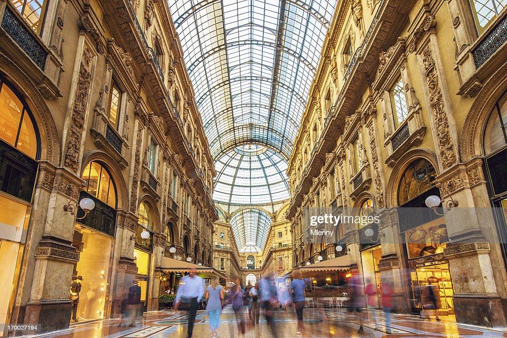 Galleria Vittorio Emanuele II in Mailand, Italien : Stock-Foto
