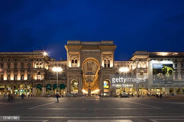 Galleria Vittorio Emanuele II, Piazza Duomo, Milan, Lombardy, Italy