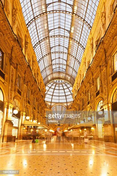 Galleria Vittorio Emanuele Milan Italy Luxury Shopping Mall