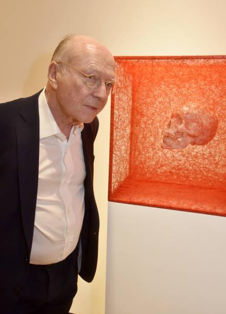 "FRA: ""Inner Universe"" Chiharu Shiota Exhibition At Galerie Templon In Paris"