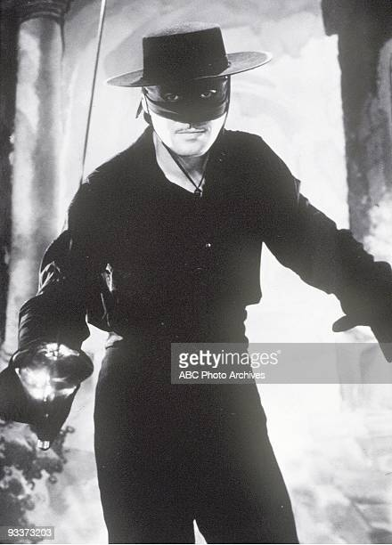 ZORRO gallery 10/3/57 Guy Williams played Don Diego de la Vega/Zorro the swashbuckling masked hero who donned mask and sword to aid the oppressed