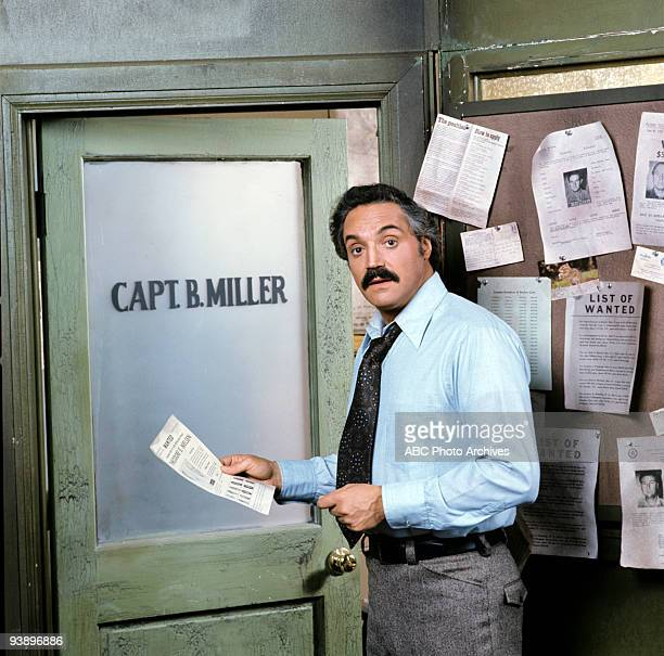 MILLER gallery 1/23/75 Barney Miller sprung from a pilot that aired as a special on Walt Disney Television via Getty Images in 1974 called The Life...