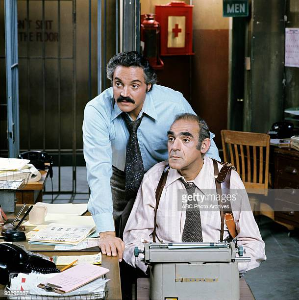 MILLER gallery 1/23/75 'Barney Miller' sprung from a pilot that aired as a special on ABC in 1974 called 'The Life and Times of Captain Barney...