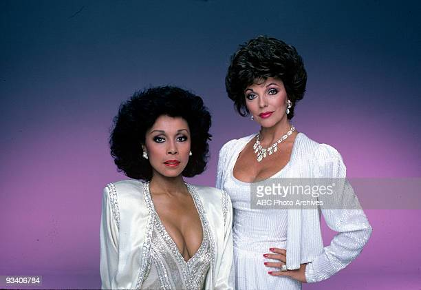 DYNASTY 'Gallery' 19831986 Diahann Carroll Joan Collins