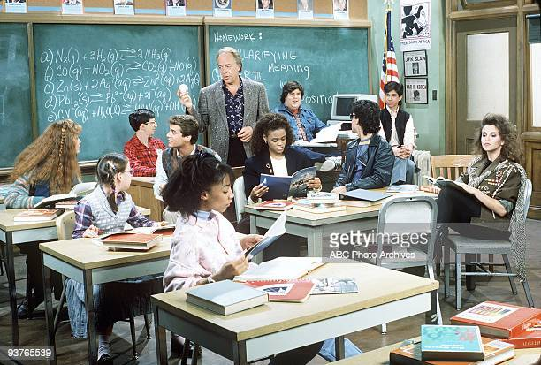 CLASS gallery 9/17/86 The ABC series focused on the brainy students in the IHP and their substitute teacher Charlie Moore at Manhattan's Monroe High...