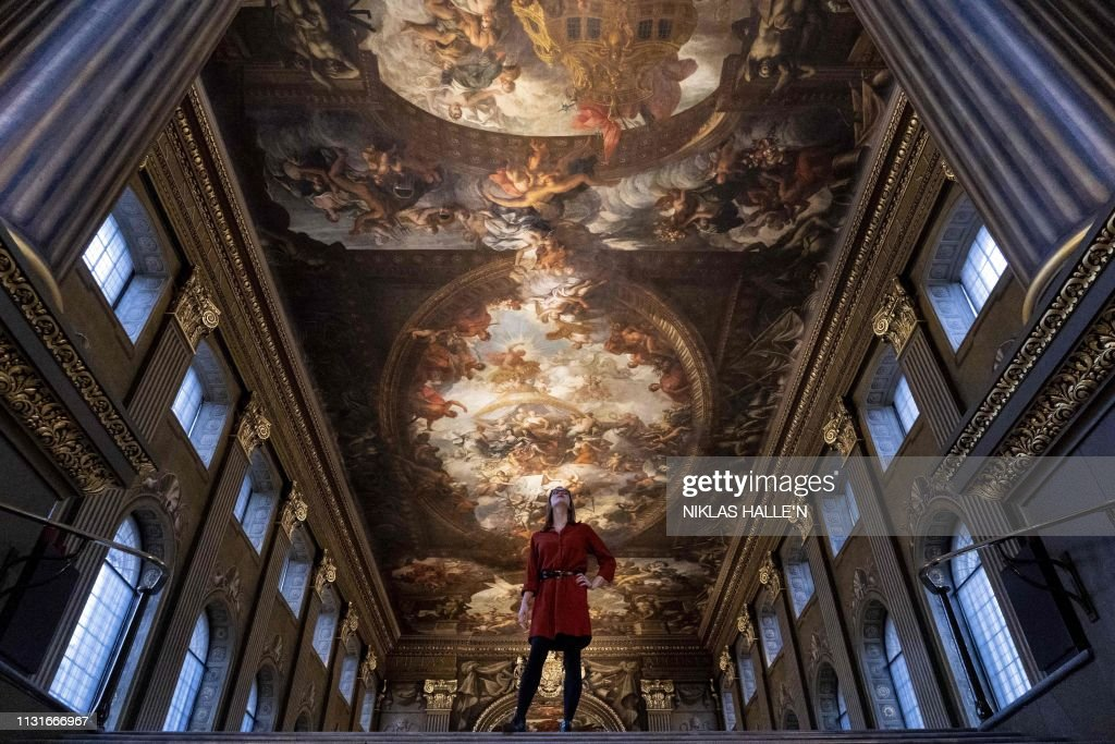 GBR: The Painted Hall restored at the Old Royal Naval College