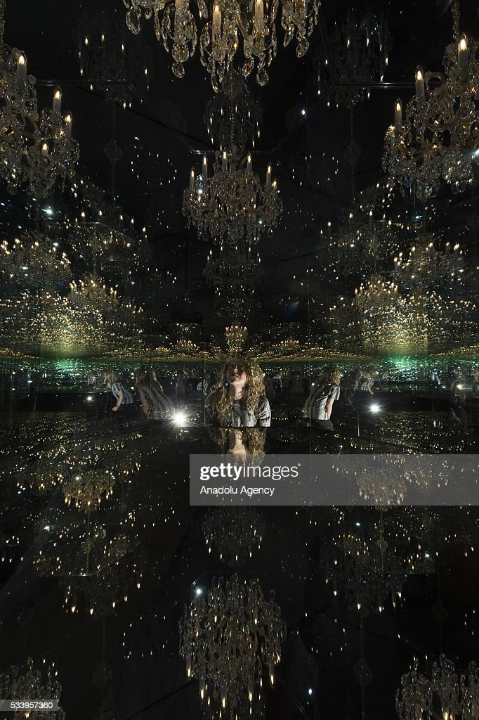 Japanese artist Yayoi Kusama\'s art work Pictures | Getty Images