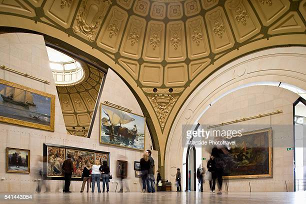 Gallery in Musee d'Orsay