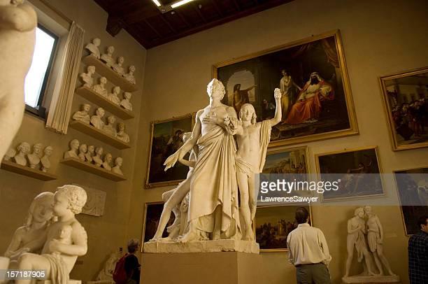 gallery in der Accademia, Florenz, Italien