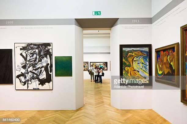 Gallery in the Stadel Museum, Frankfurt, Germany
