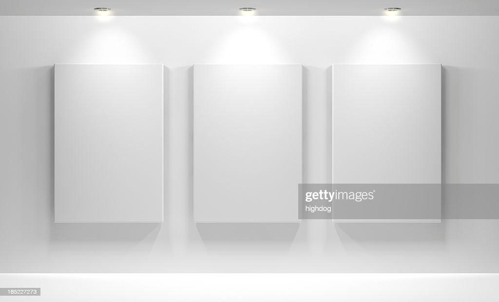Interno di galleria con vuoto : Foto stock