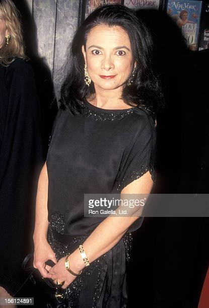 Gallery owner Mary Boone attends the 30th Anniversary Celebration of New York Magazine on April 2 1998 at Studio 54 in New York City