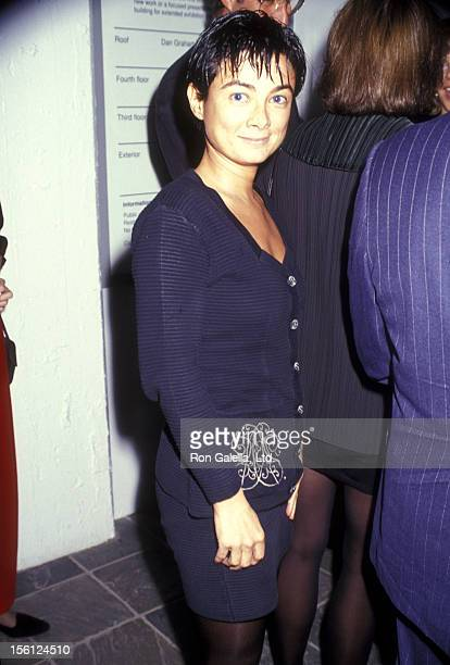 Gallery owner Mary Boone attends The Dia Center for the Arts' Fall Gala Unveiling of Brice Marden's 'Cold Mountain' Exhibit on October 15 1991 at The...
