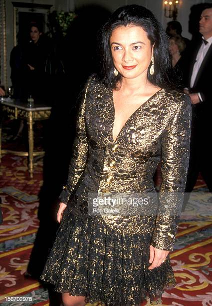 Gallery owner Mary Boone attends the Party to Celebrate Esquire Magazine's Third Annual Women We Love Issue on March 7 1990 at The Plaza Hotel in New...