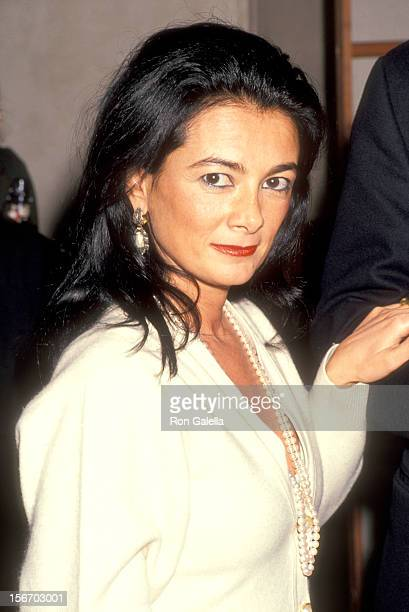 Gallery owner Mary Boone attends the Reine Margot La New York City Premiere on December 7 1994 at Tribeca Film Center in New York City