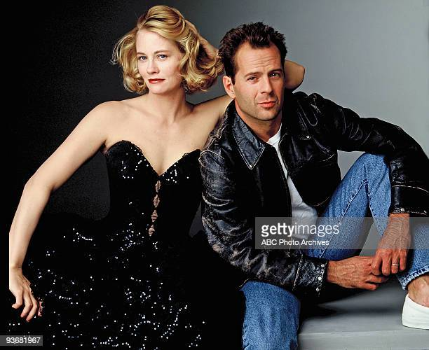 MOONLIGHTING Gallery Season Five Cybill Shepherd Bruce Willis