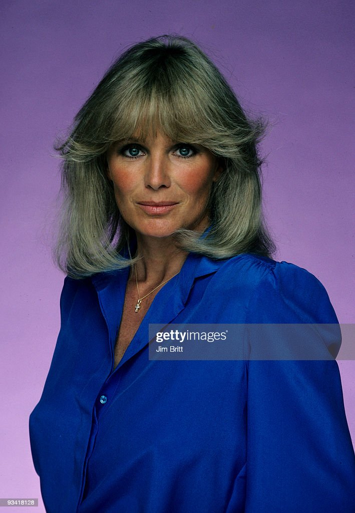 Linda Evans' Krystle Carrington wore big hair to go along with big-shouldered power dresses as the matriarch in the TV primetime soap opera Dynasty.