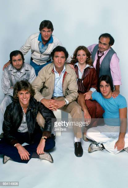 TAXI Gallery Season One 9/12/78 Andy Kaufman Jeff Conaway Randall Carver Judd Hirsch Marilu Henner Danny DeVito and Tony Danza on the Walt Disney...