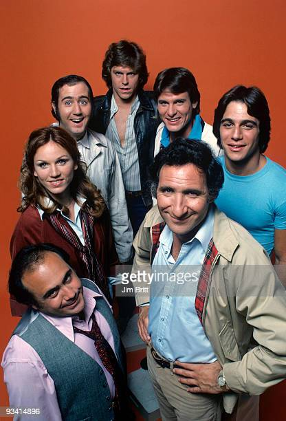 TAXI Gallery Season One 9/12/78 Danny DeVito Marilu Henner Andy Kaufman Jeff Conaway Randall Carver Tony Danza and Judd Hirsch on the Walt Disney...