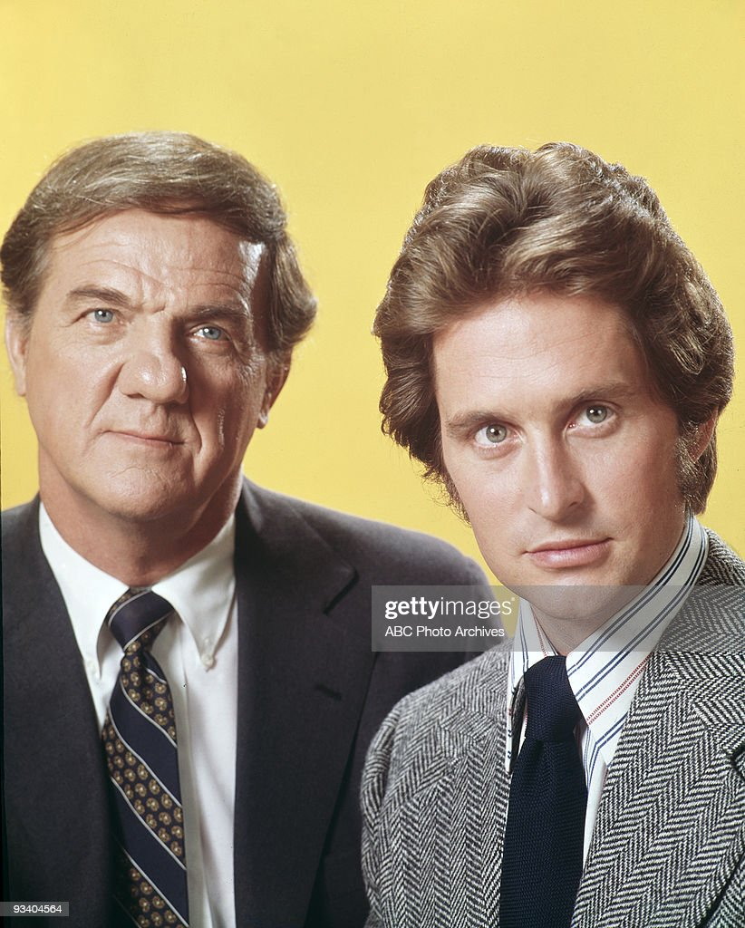 FRANCISCO - gallery - Season One - 9/16/72, Lt. Mike Stone (Karl Malden, left), a 23-year veteran of the Bureau of Inspectors Division of the San Francisco Police Department, was partnered with Inspector Steve Keller (Michael Douglas) to track down criminals in the Bay Area.,