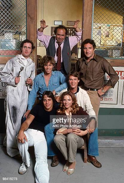 TAXI Gallery Season One 9/2/78 Andy Kaufman Tony Danza Jeff Conaway Danny DeVito Marilu Henner Randall Carver Judd Hirsch on the Walt Disney...