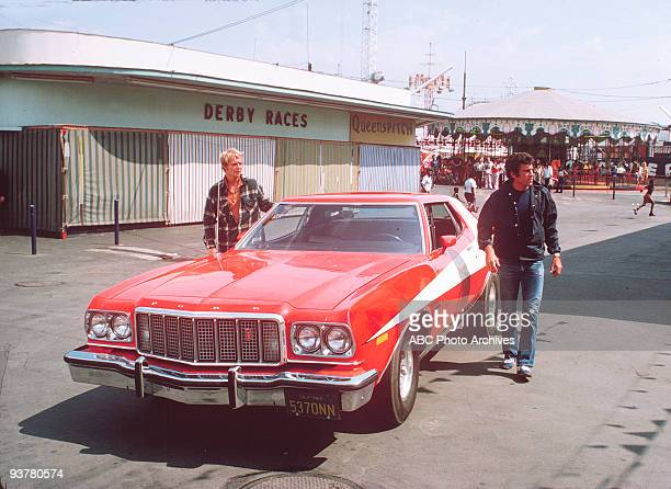 HUTCH Gallery Season One 9/3/75 David Soul as the intellectual Kenneth Hutch Hutchinson and Paul Michael Glaser as the streetwise David Starsky are...