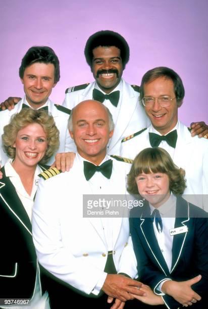 Gallery - Season Three - /79, Pictured, top row: Fred Grandy , Ted Lange , Bernie Kopell ; bottom row: Lauren Tewes , Gavin MacLeod , Jill Whelan ,